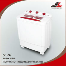Humanized design twin tub washing machine