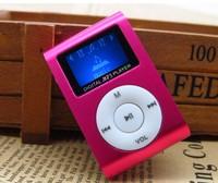 Portable Mini Clip MP3 Music Player LCD Screen Multicolor With Micro TF/SD Card Slot