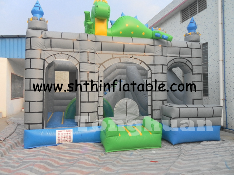inflatable bouncy castle dragon