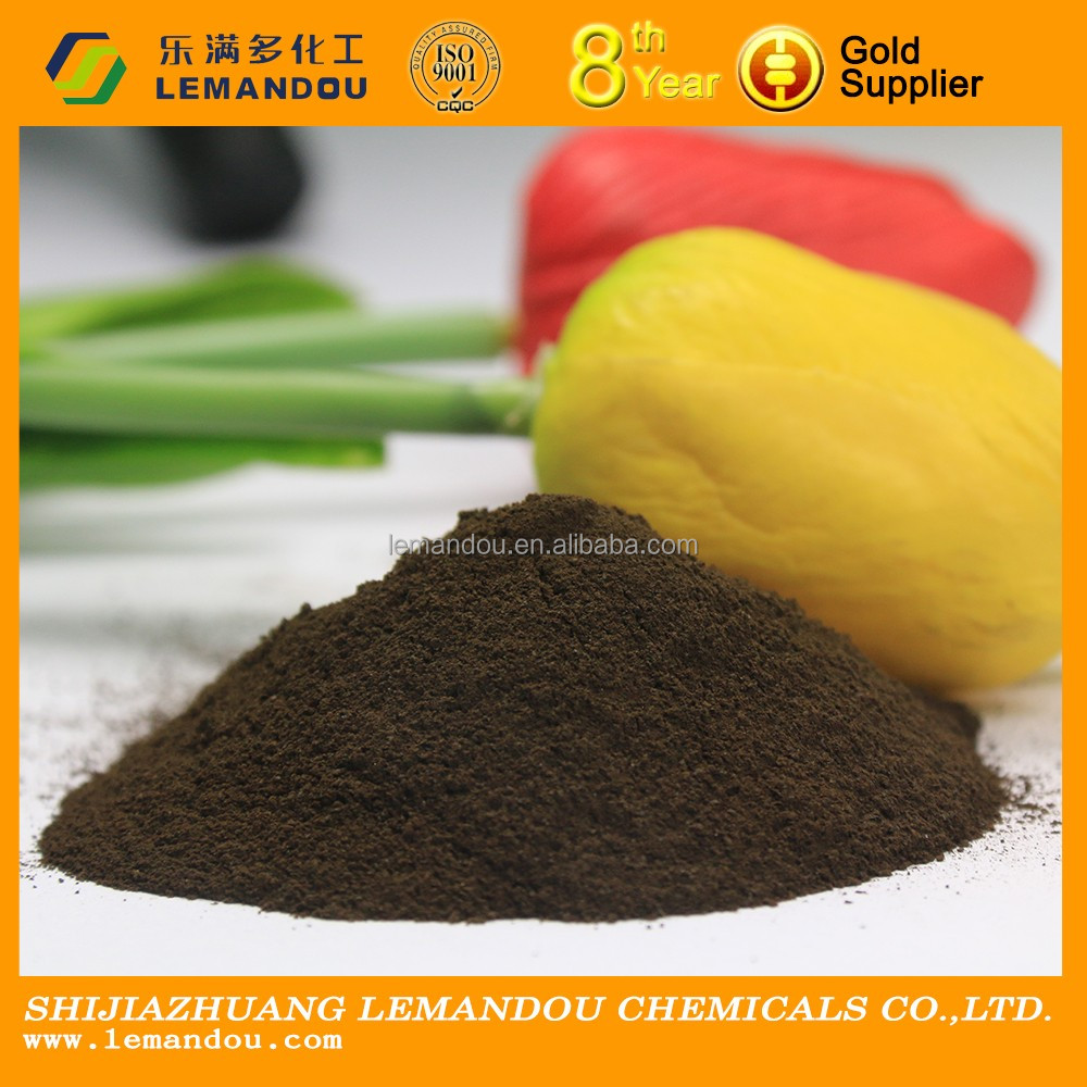 humic acid 65%/fulvic acid15%/K2O 10% organic fertilizer