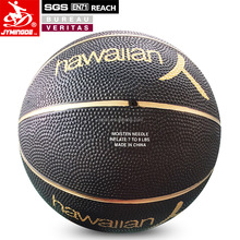 Rubber black new style custom made basketballs for wholesale