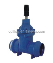 NON-RISING STEM SOFT SEATED GATE VALVE SOCKET END