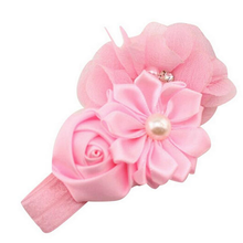 Lace Girls Princess Hairband Accessoire hair bows baby flower headband