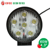 Hot 60w led tractor light, 4.3 inch 12v led tractor light