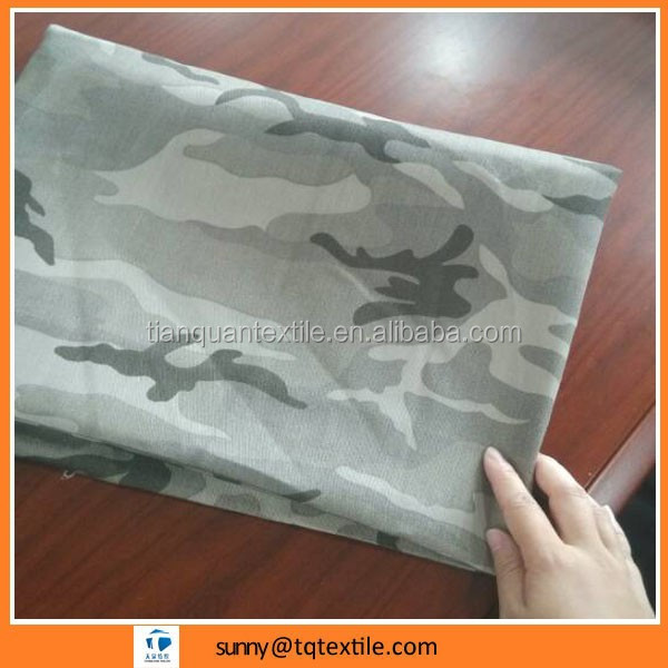 Camouflage fabric with high quality low price 45*45 110*76, 133*72, 96*72