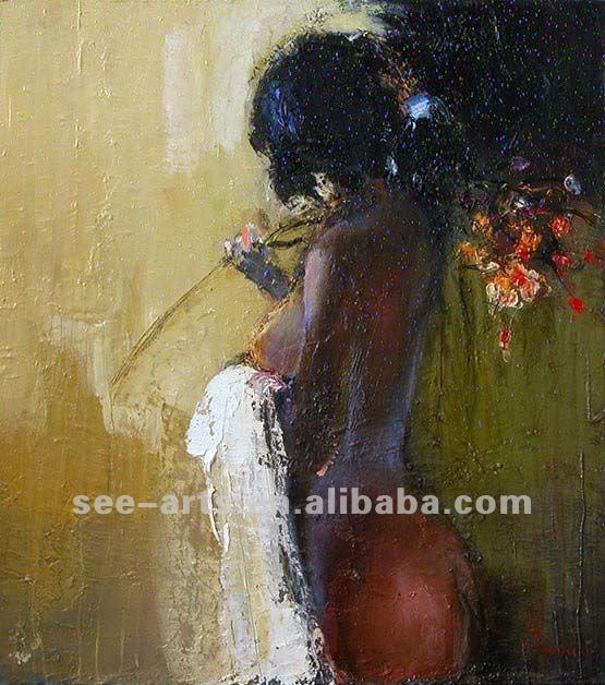 100% handpainted decoration ,nude women oil painting abstract