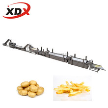 Industrial french fries full automatic production line