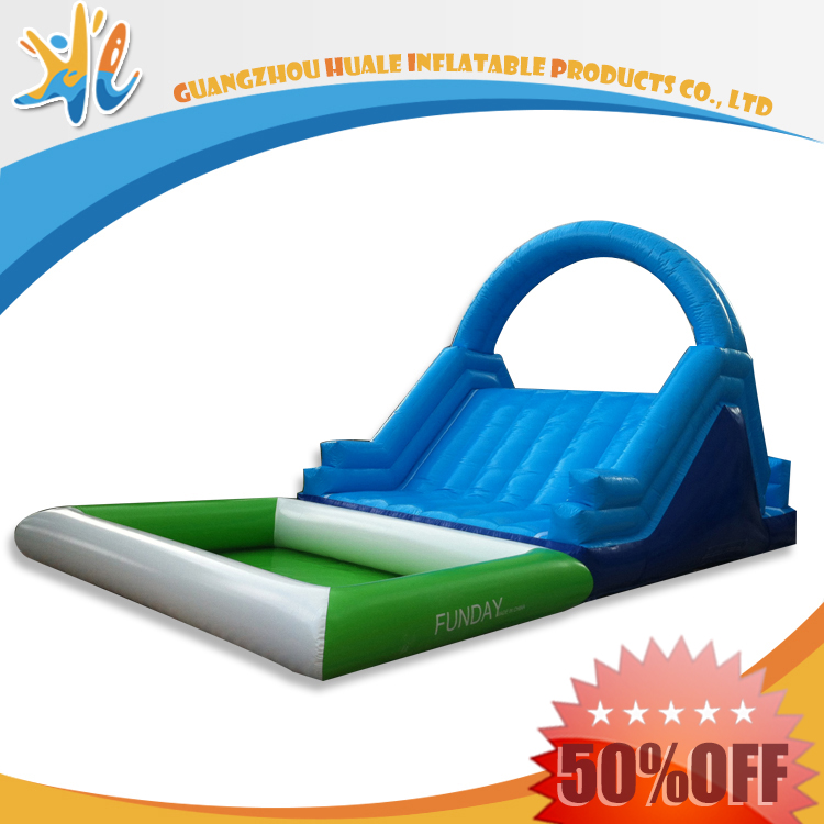 Low Prices Happy Childhood Inflatable Water Slide With Slip
