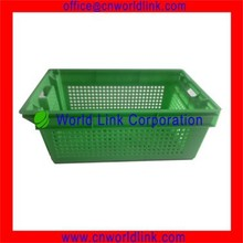 Food Grade Agriculture Fresh Stackable Fruit Plastic Container