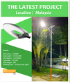 New generation solar street lamp 30w to 100W IP68 5 years warranty