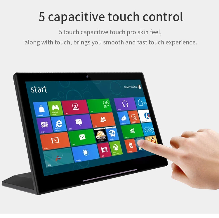 L shape tablet 7 inch android tablet pc all in one desktop PC for bank review