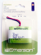 3.6v 600mah Cordless Phone Ni-mh Batteries Pack