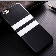Wholesale Ultra Thin TPU Silicon case for iphone 5 SE Luxury Leather Stripe Pattern Phone Case for iphone 5s phone Accessories
