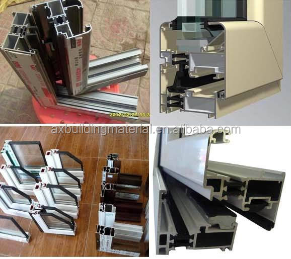 Tempered LOWE glass window,aluminium casement window and door