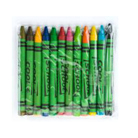 Children Multicolor Silky Crayons In Bulk Non Toxic Customs Wax Crayon With ASTM
