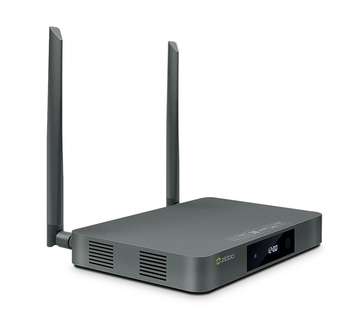 ZIDOO X9S Realtek RTD1295 Android 6.0 OpenWRT(NAS) TV BOX 2G/16G AC WIFI 1000M LAN HDR USB3.0 in SATA Bluetooth recording
