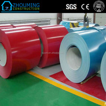 PPGI coils, Color Coated Steel Coil Prepainted Galvanized Steel Coil Z275 / Metal Roofing Sheets