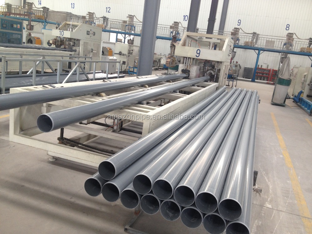 ISO4422 DN110mm upvc water supply pipe manufacturer