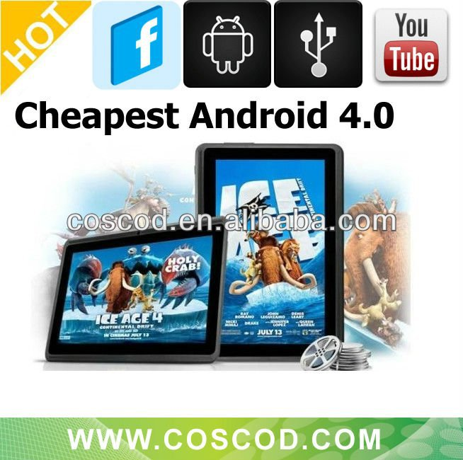 "Best Low price 7 ""Boxchip allwinner A13 tablet pc"