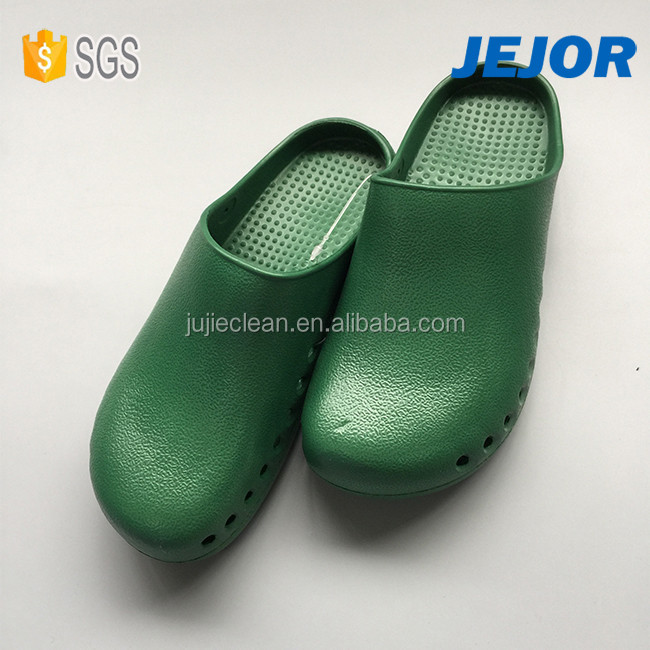 Lab Cleanroom Hospital Unisex Anti-Skid Autoclavable Reusable Medical Clogs Shoes
