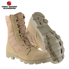 Lightweight Desert Tan Tactical Military Airsoft Hiking Battle Boots