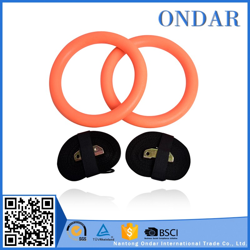 Private label yoga accessories exercise rings with low cost
