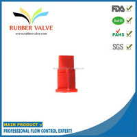 duckbill rubber valve inflation