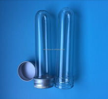Packaging Plastic Candy Tube Clear Plastic Tubes For Crafts
