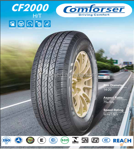 COMFORSER tires for car and LT light truck car tyre made in alibaba china
