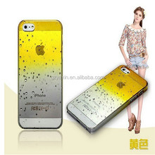 Hot new products for 2014 raindrop hard case for samsung s3,s4,s5,note3& for iphone 4,4s&5,5s