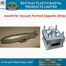 2015 hottest ODM high precision Vacuum Formed Zeppelin blimp mould factory in China