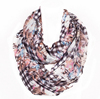primark newest print fashion scarf for flower print with grid the winter scarf snood