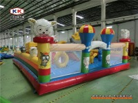 cartoon sheep family outdoor Inflatables for playground entertainment