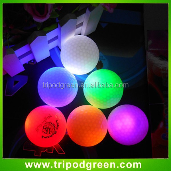 Custom led golf balls,best price led golf balls with LOGO