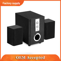 mini laptop waterproof subwoofer wooden speaker box