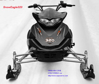 COPOWER 320CC rc snowmobile,snowmobile ski doo,snowmobile sled,snow vehicle (Direct factory)