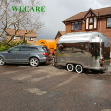 Smart mobile concession food trailer used ice cream cart