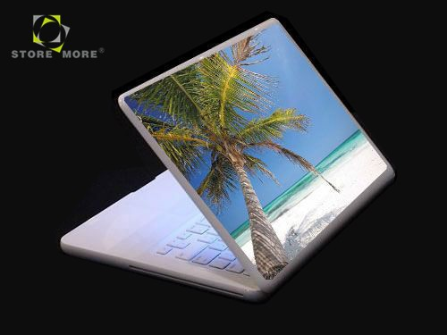 Cheap Sandy Beach Pattern Laptop Skin Pack