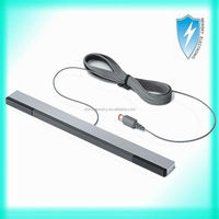 Wired infrared ray sensor bar for Nintendo Wii & Wii U stand infrared IR signal