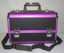 Professional Aluminum Hairdresser Carrying Makeup Case