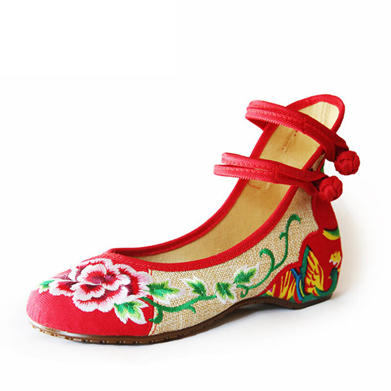 The best selling old beijing cloth ladies wedding shoes