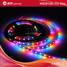4m 60leds/m ws2812b ws2812 led strip White pcb Waterproof IP30 digital strip