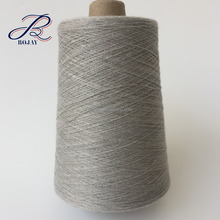 Melange gray color with Ne 30/1 90% Cotton 10% Viscose blended yarn from China factory