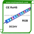 Color changing 48W 60W DC24V led wallwasher rgb