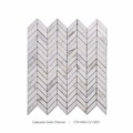 New Chevron Design Marble Mosaic For Floor And Wall