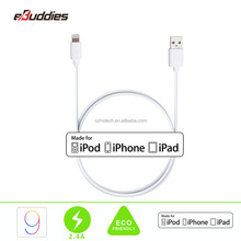 1m 3.3ft Original MFI Certified USB Cable 8Pin USB Charge & Sync Date cable for iPhone 6 5 SE