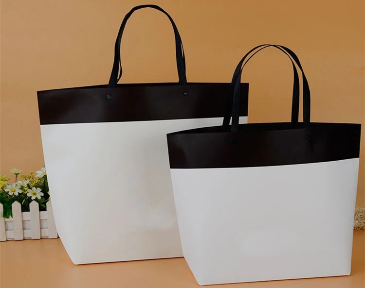 Luxury style different types Brown Shopping Paper Bag for Clothing