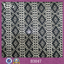 Lita B3047 geometric design knitting ruffles lace fabric for women costume