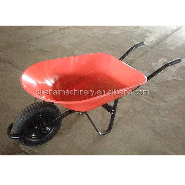 Qingdao Manufacturer Cheap Red Yellow Blue Green Color Wheelbarrow Accessories/50l wheelbarrow