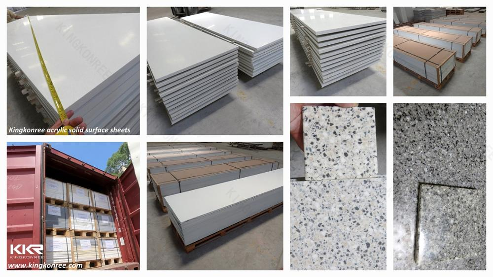 Hot sale wholesale solid surface artificial stone shower panels